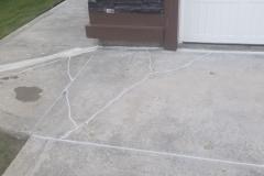 Driveway Crack Sealing