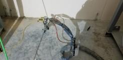 Raising Sunken Concrete WIth Polyurethane Foam Concrete Lifting Equipment